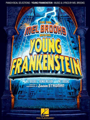 Young Frankenstein The Broadway Musical Piano Vocal