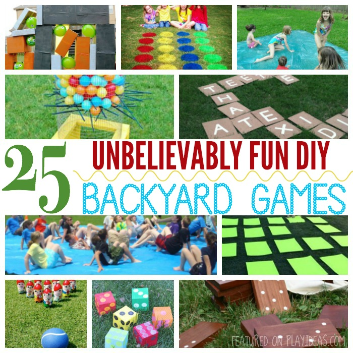 Party Games All Ages Outdoors