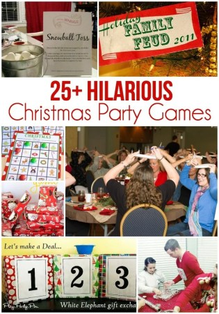 25 Easy Christmas Party Games You Have to Play This Year 25 of the best Christmas party games