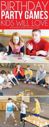 Hilarious Birthday Party Games for Kids   Adults   Play Party Plan Don t forget to pin these birthday party games for later