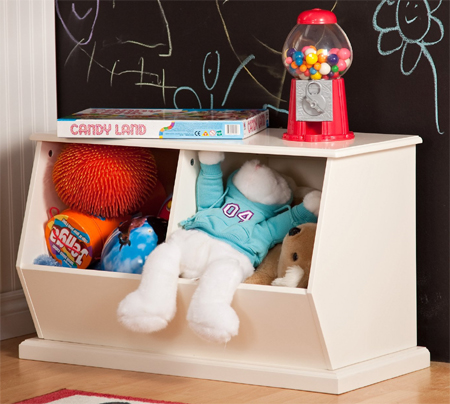Classic Playtime Stackable Toy Storage Meets Complete Kid