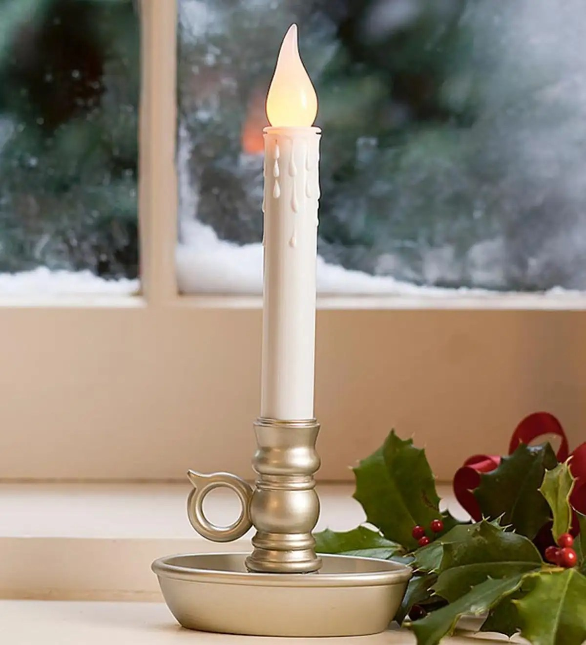 Home Accents Holiday 9 Led Candles Timer
