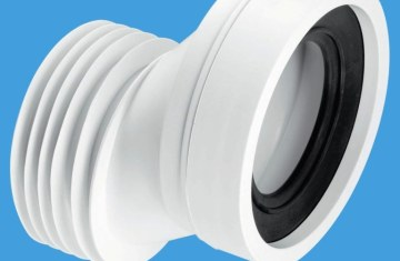 Toilet Plumbing Rubber Pipe Connectors   Licensed HVAC and Plumbing