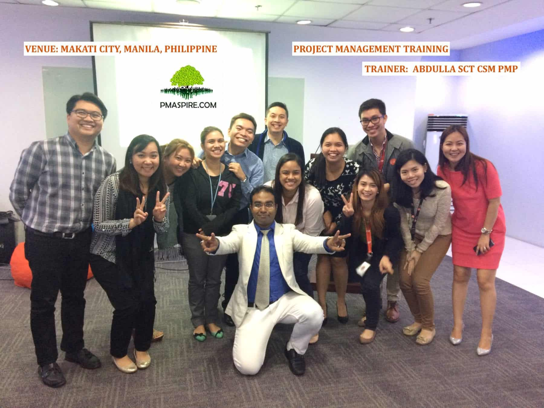 Pmaspire PMP Training Philippine