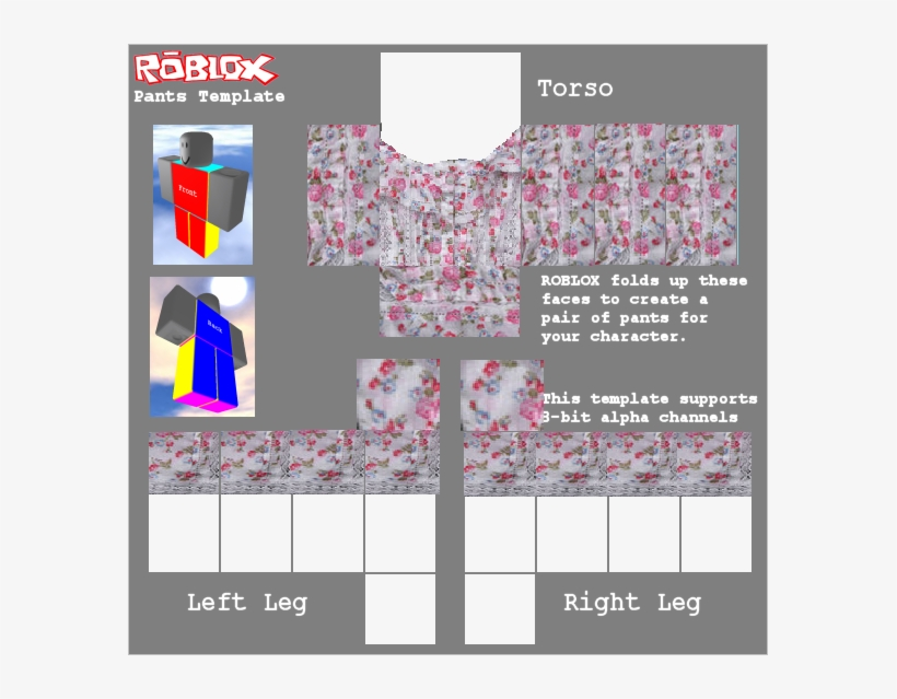 Template Roblox Security Shirt