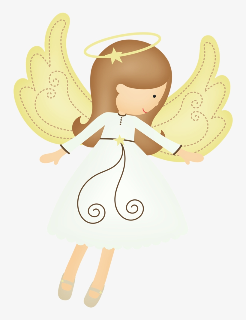 angel clipart free - 734×984