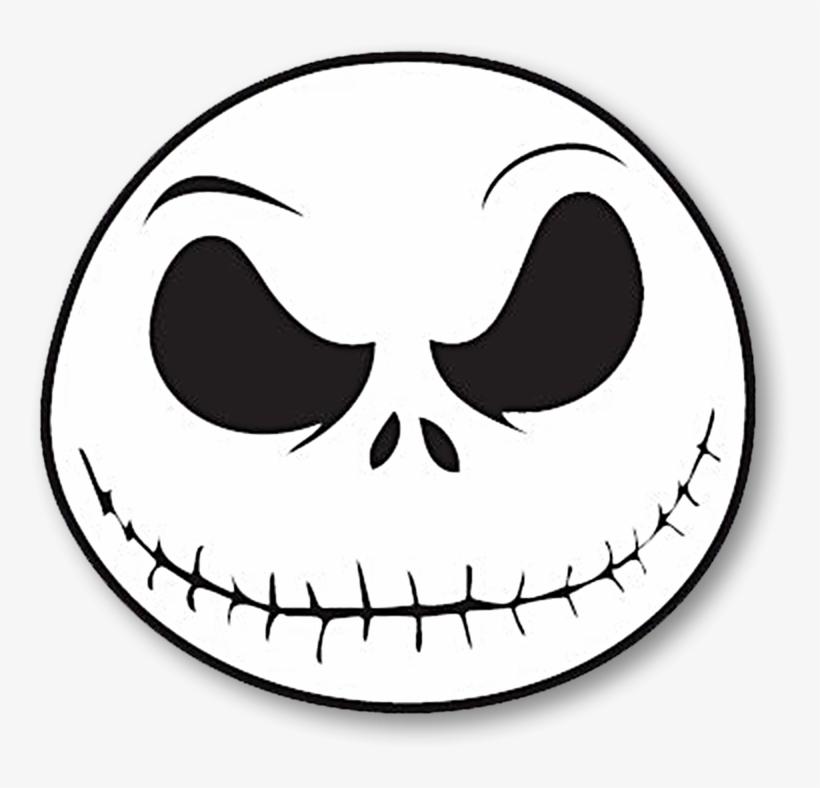 Jack Skellington Face Png - Nightmare Before Christmas Png ...