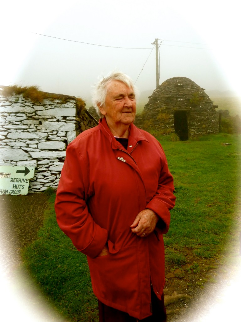 Mary, Beehive Huts, Dingle Peninsula, Ireland