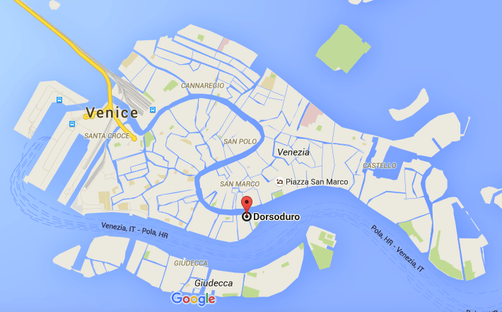 Map of Venice, Things to do in Venice in 2 days