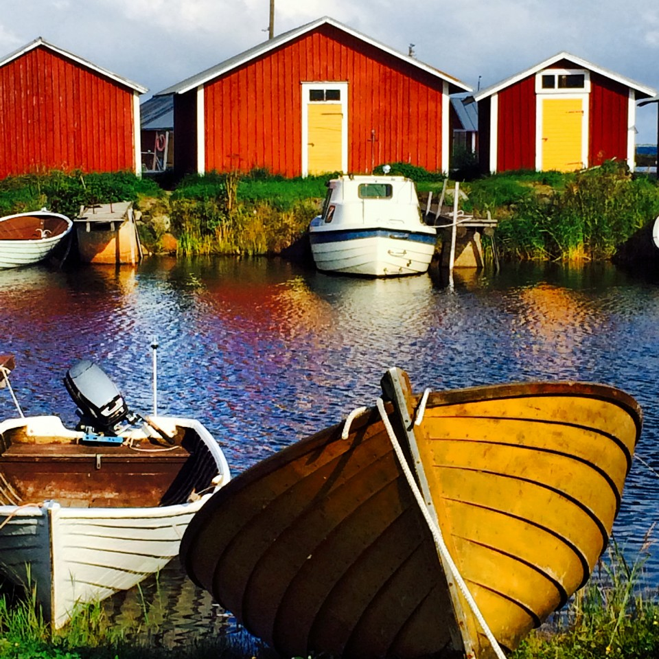 Village of Björköby, Finland