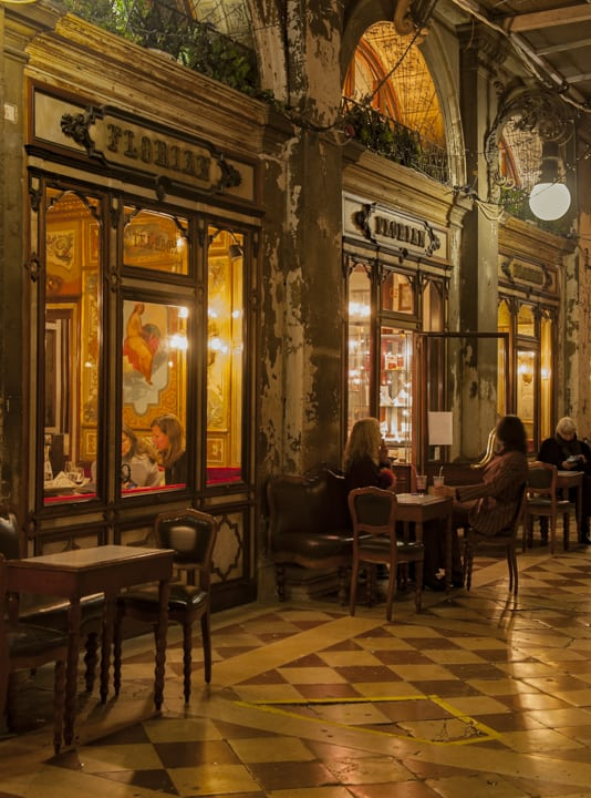 Cafes in Venice