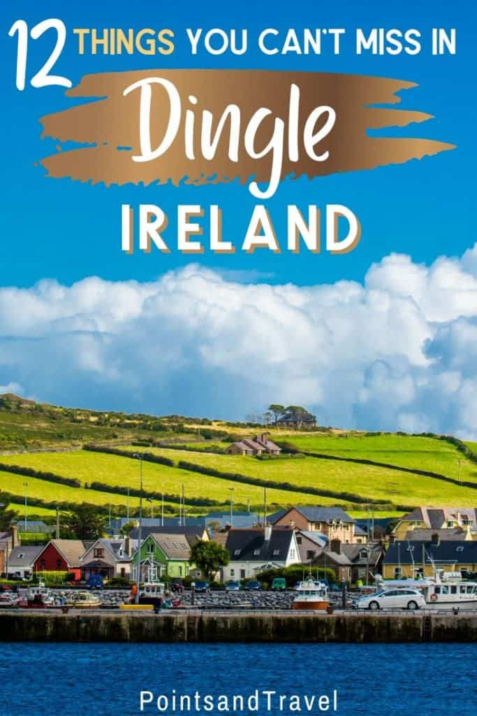 Looking for the best things to do in Dingle, Ireland? Check out this list of 12 fun activities in Dingle to try in the area. There are so many reasons to add Dingle to your Ireland itinerary | What to Do in Dingle Ireland | Dingle Travel Guide | Dingle Itinerary | Weekend in Dingle | #dingle #ireland