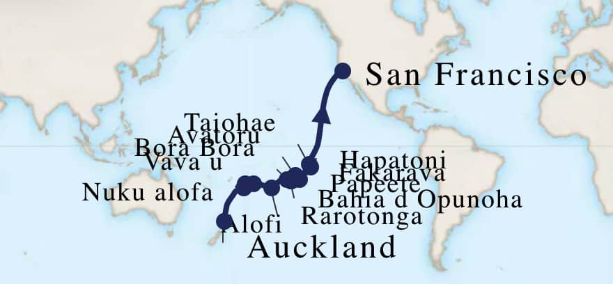 South Pacific Cruise, South Pacific Island Cruise, Pacific Cruises, Maasdam Review