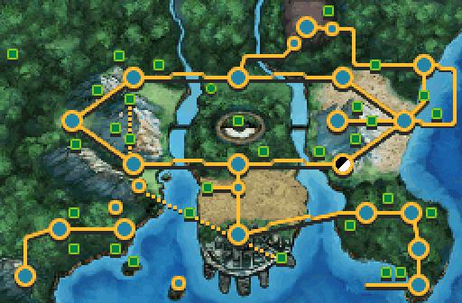 Pokemon X And Y Pokemon Locations Map