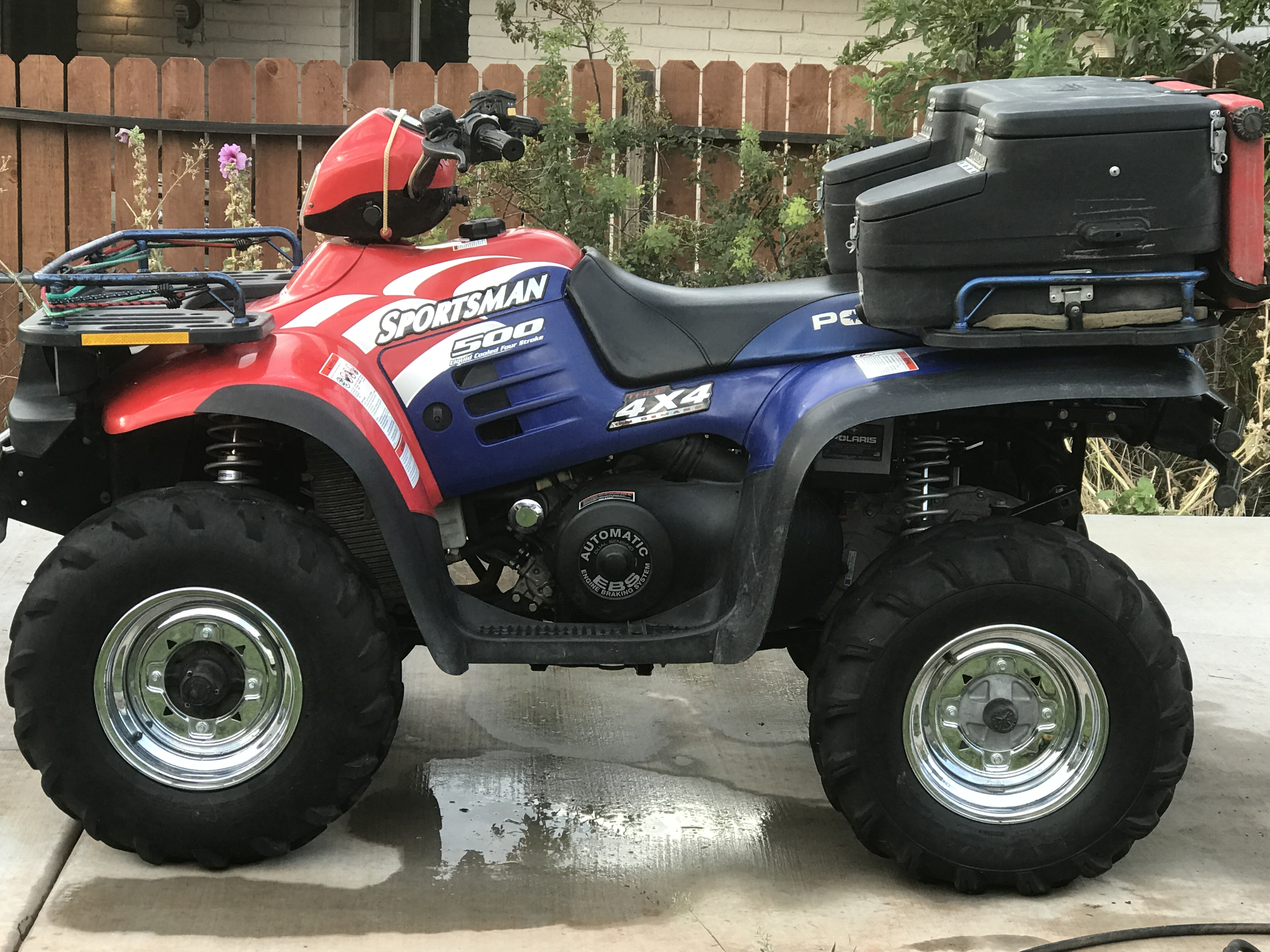 2002 Sportsman 500 Freedom Edition Polaris Atv Forum