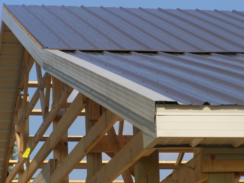 Pole Barn Roofing Cealing