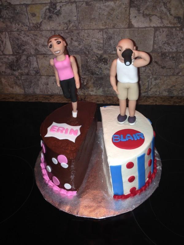 Novelty Cakes Polka Dot Apron Sweets