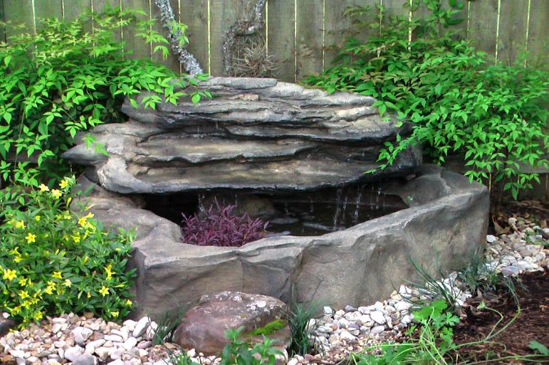 Small Garden Pond Fountain
