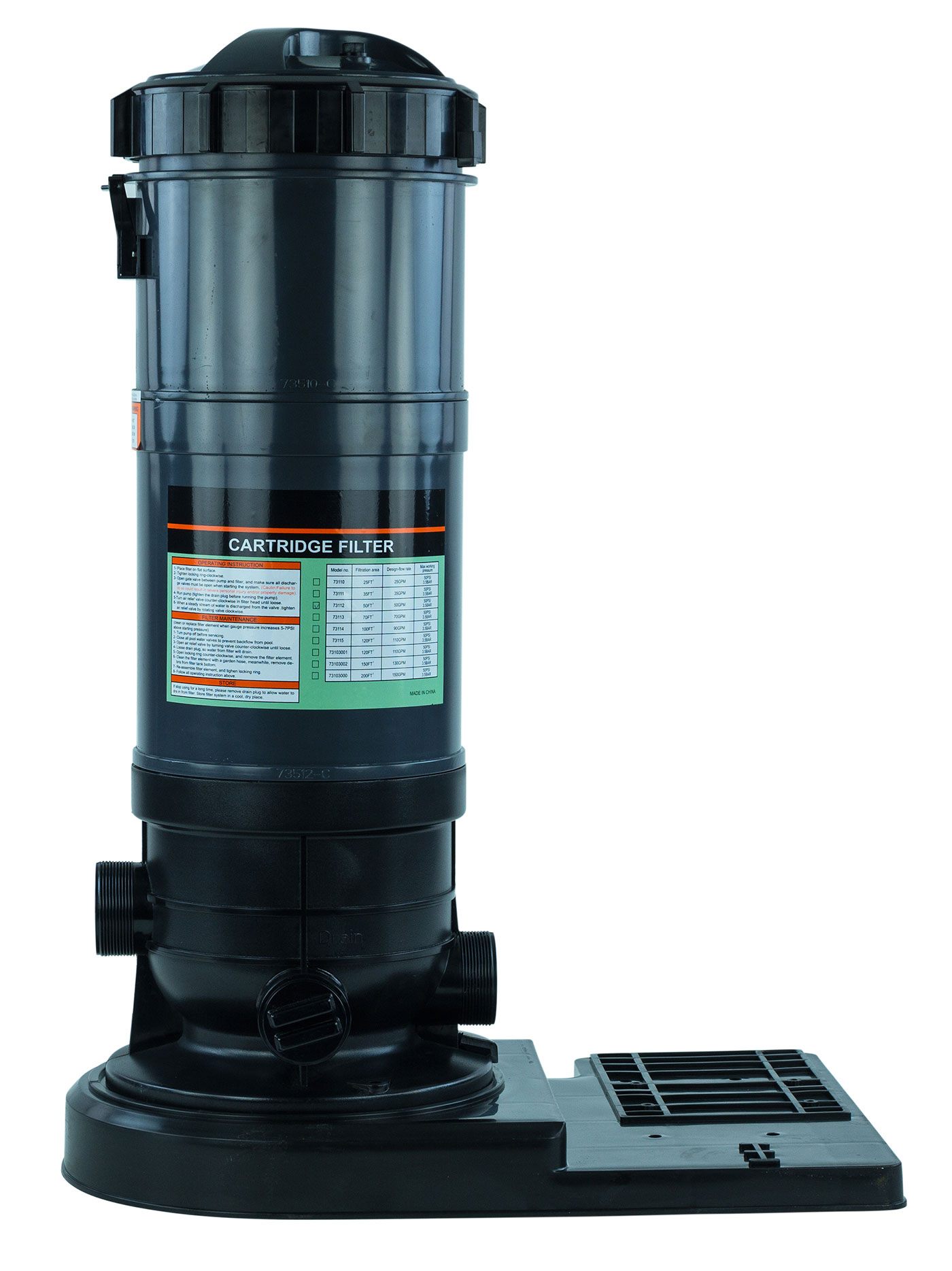 Rx Clear 174 Radiant Cartridge Filter Prc90 For Above Ground