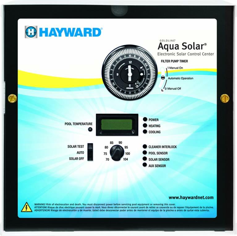 Solar Digital Wall Clock