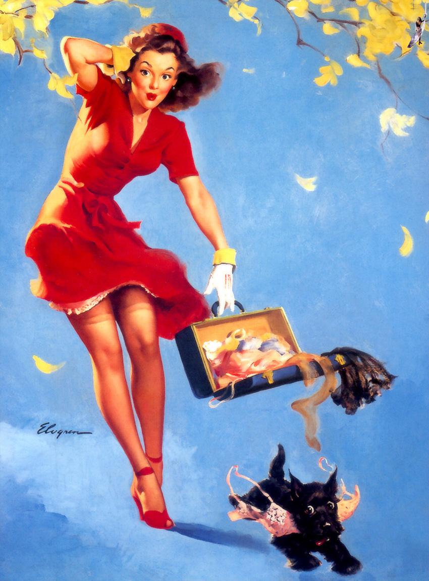 Gil Elvgren, Top Image-Maker & Pin-Up Glamour Master ...