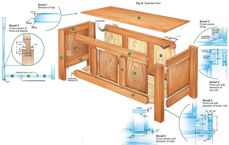 How Make Fly Tying Bench