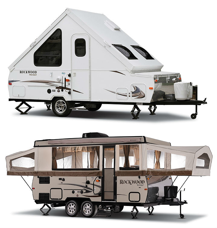 Rockwood A Frame Camping