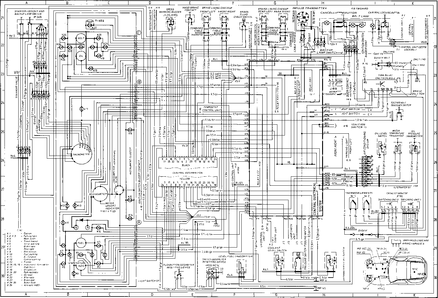 File  2008 Porsche 997 Wiring Diagram