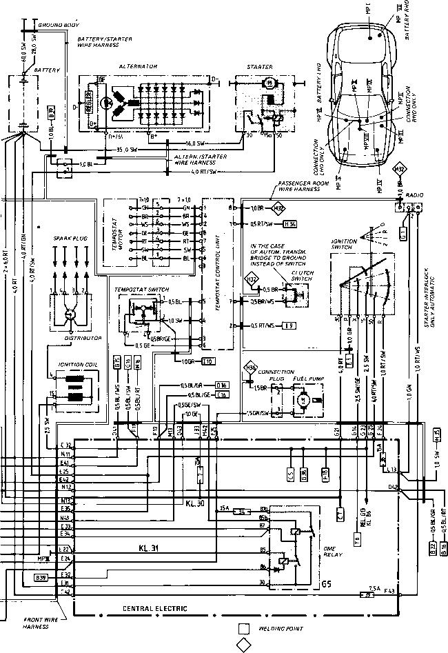 Porsche 944 Wiring Diagram Schematic Electronic Rhselfitco: Porsche 944 Turbo Moreover Wiring Diagram At Gmaili.net