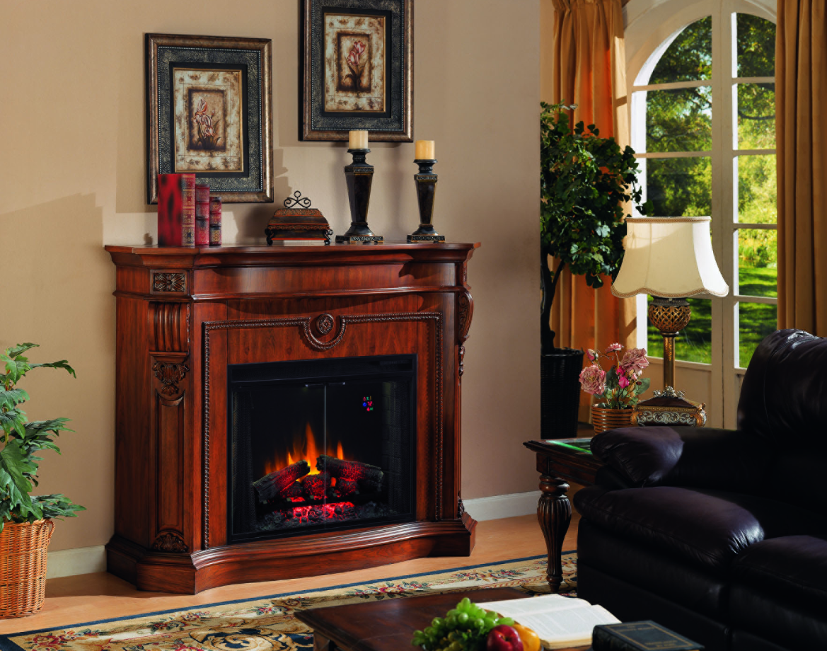 Giant Electric Fireplace