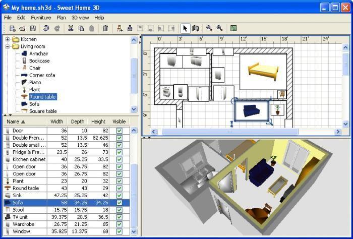 Sweet Home Design 3d Software