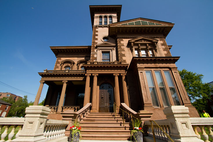 video portland victorian mansion - 735×490