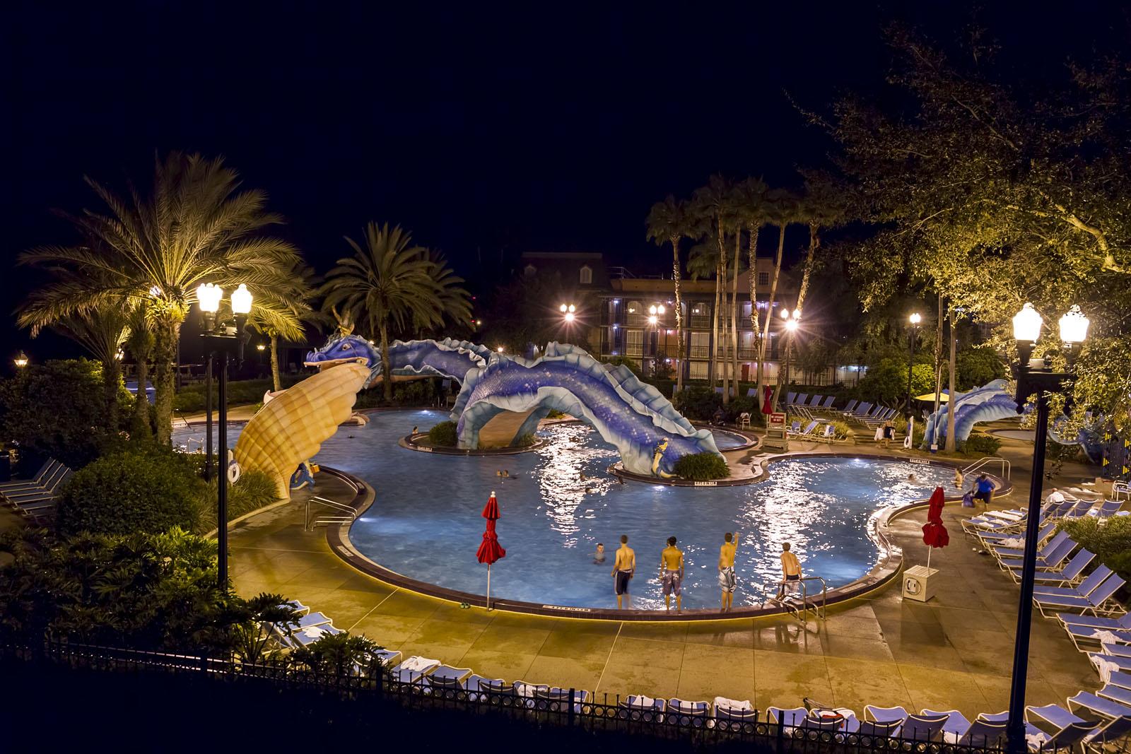 French Quarter Port Map Orleans Disney