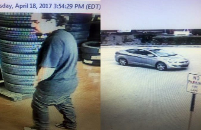 Car Stolen from Walmart Service Area While Customer Waited for Oil     Car Stolen from Walmart Service Area While Customer Waited for Oil Change