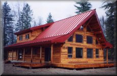 Custom House Designs Granby Post and Beam timber Houses can be     Granby s Dayton Model House plans and pricing