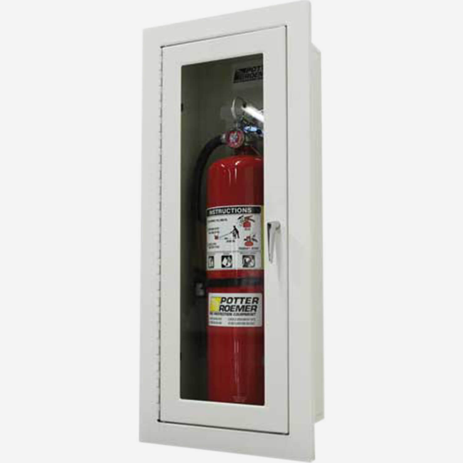 Recessed Alta Fire Extinguisher Cabinets - Potter Roemer