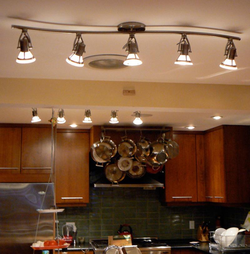 Kitchen Track Pendant Lighting