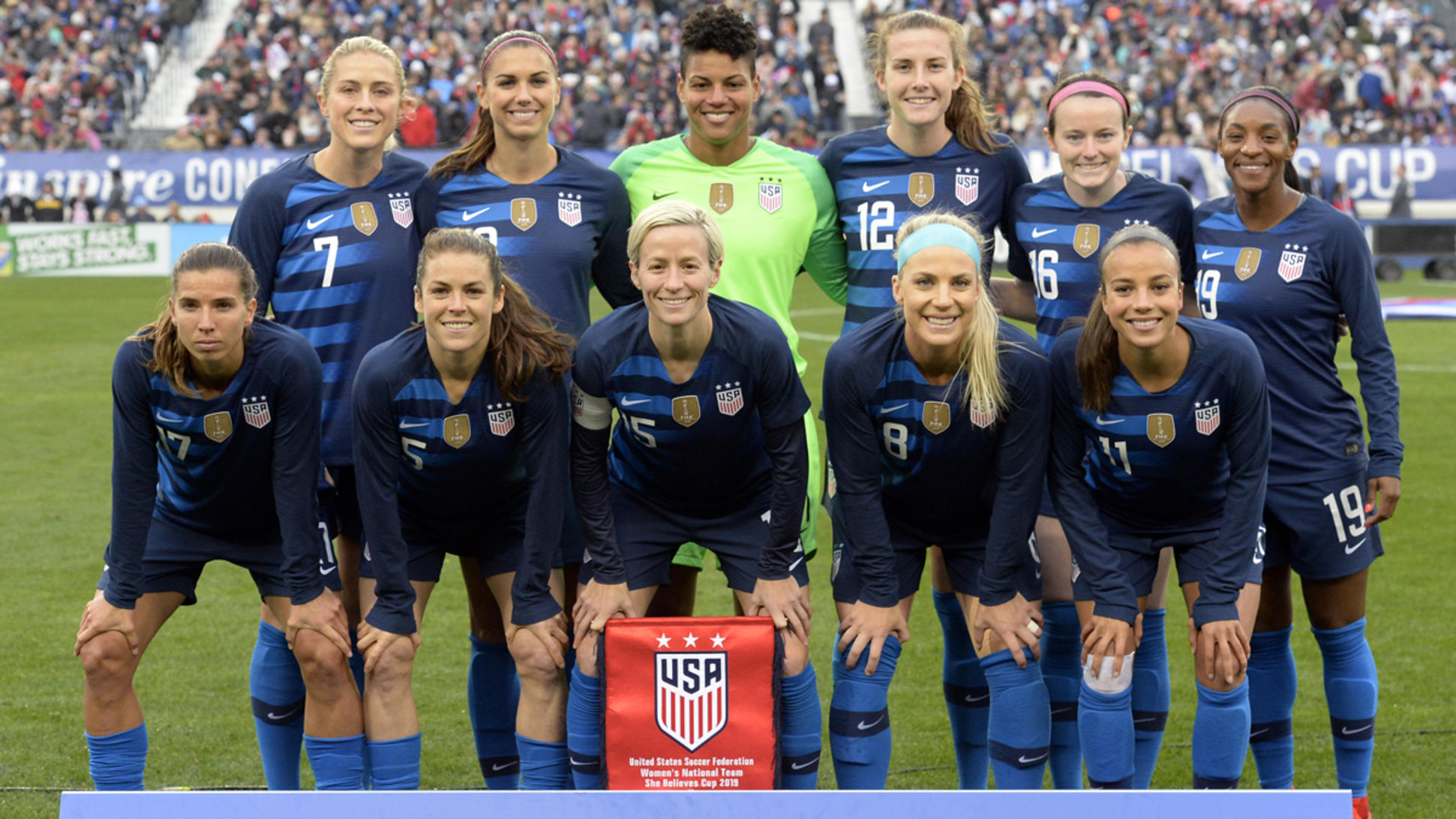 U.S. Women's soccer team sues for equal pay | Power Line
