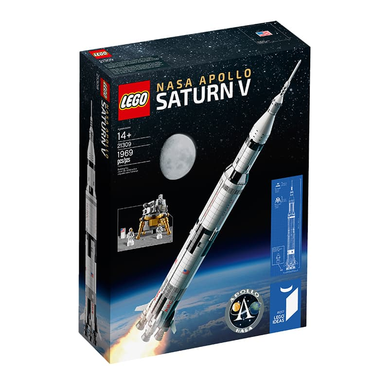 Advance review of LEGO Apollo Saturn V Rocket Set 21309     21309 Nasa Apollo Saturn V minifigure Lego set star wars minifig minifigs  minifigures mini figures mini