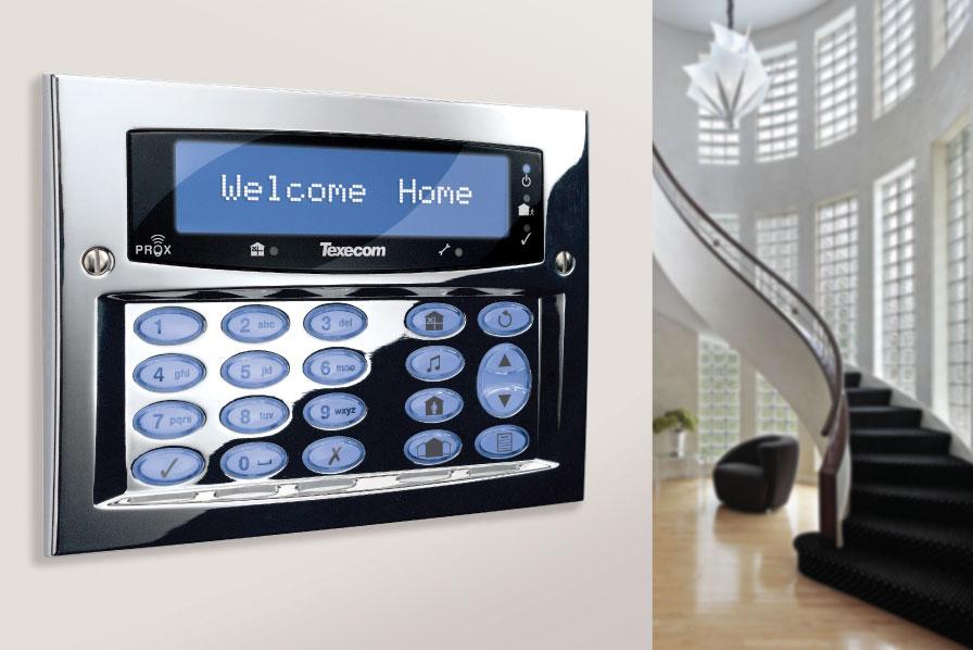 Monitored Home Alarm
