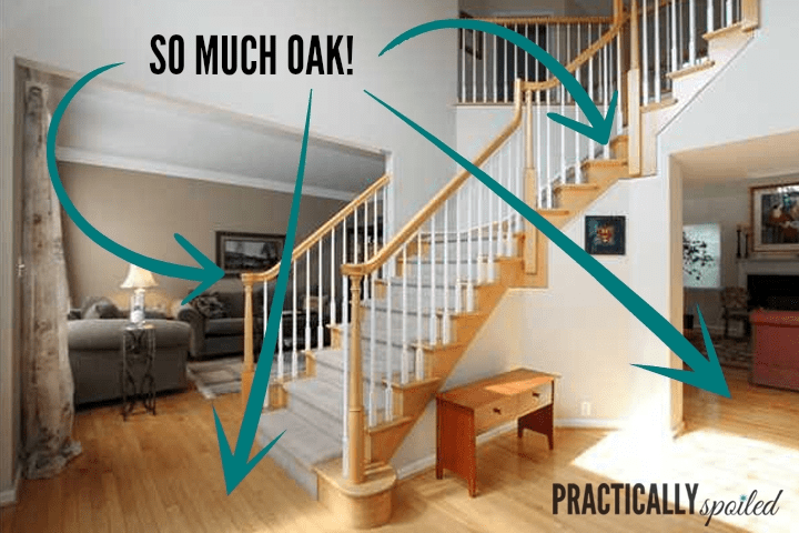 How To Gel Stain *Gly Oak Banisters | Cost To Refinish Handrail | Hardwood Stairs | Wrought Iron | Interior | Stair Treads | Refinishing Hardwood Floors
