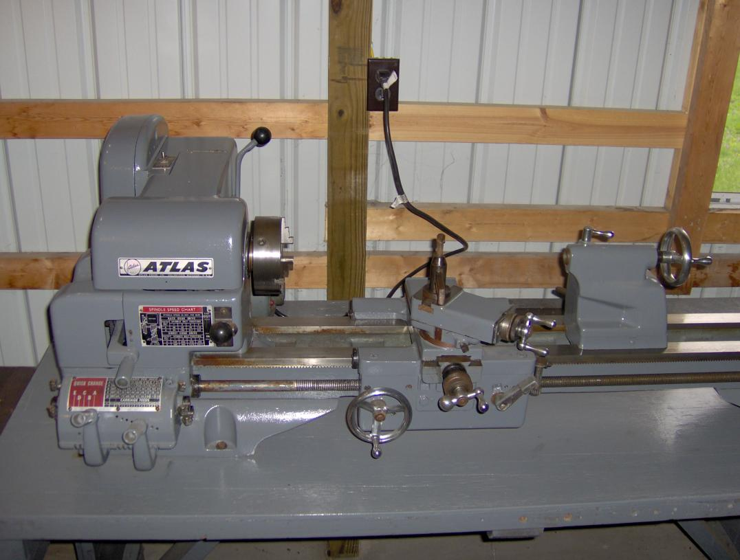 Fs Late Model Atlas 12 X 36 Lathe