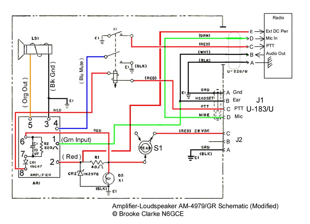 Radio Shack Microphone Jack Wiring Diagram Mic
