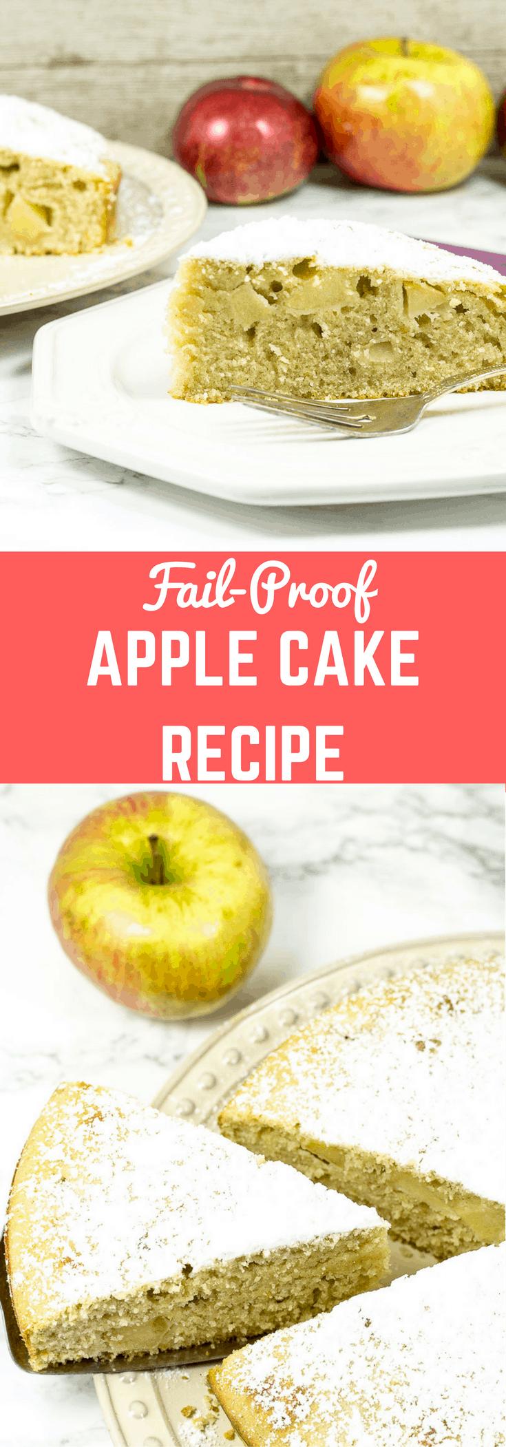 Apples Recipes Cake Apple Fresh Easy Mix Cake