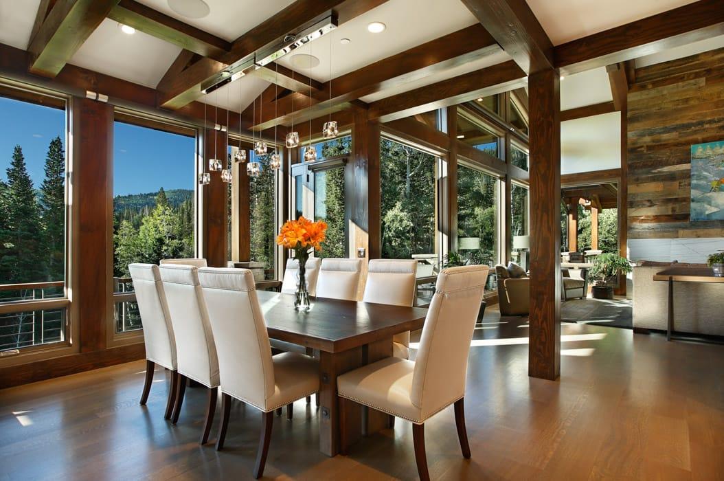 Park City Residence Utah Modern Timber Frame Home