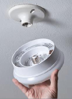 7 Quot Led Spin Light Round Flushmount Fixture 54606143