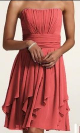 David s Bridal F14169 CORALREEF  298  Size  6   Bridesmaid Dresses Pin it      David s Bridal F14169 CORALREEF