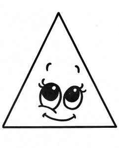 triangle coloring page # 29