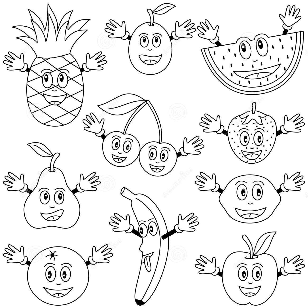 Fruits Vegetables Crafts And Worksheets For Preschool Toddler