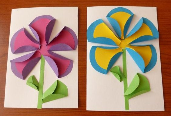 Flower craft idea for kids   Crafts and Worksheets for Preschool     This